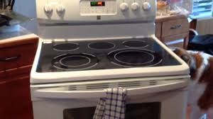 kenmore electric range fire hazzard smell of burning wires sparking and popping sounds you