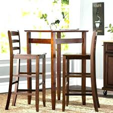 pub bistro table sets round and chairs medium size of furniture home design 3 piece