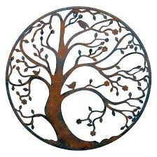wall arts large round wall art pleasing designs metal tree outdoor bright large