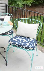 amazing diy outdoor seat cushions porch makeover progress diy outdoor chair cushions atta girl says
