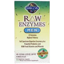 to find out about an enzyme formula for digestion support that is formulated specifically for men s health needs