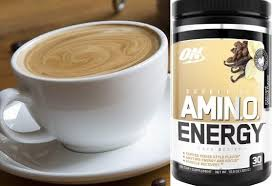 optimum nutrition s new amino energy café series