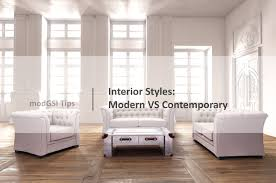 modern furniture styles. Interior Styles: Modern VS Contemporary Furniture Styles A
