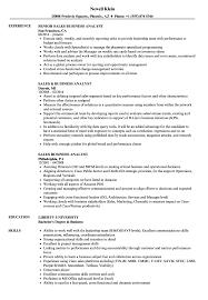 Sales Analyst Resume Sample Sales Business Analyst Resume Samples Velvet Jobs 2