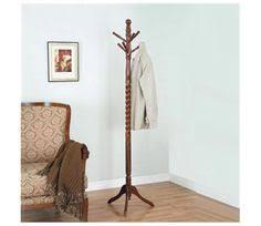Cherry Finish Wood Hall Tree Coat Rack FurnitureMaxx Solid Wood Coat Rack Hall Tree Coat Rack Hall 5