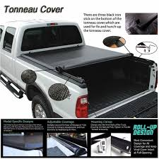 Fits 2007-2017 Toyota Tundra ROLL UP LOCK SOFT Tonneau Cover 6.5ft ...