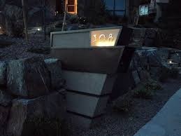 modern mailbox ideas. Awe-Inspiring-Modern-Mailboxes-decorating-ideas -for-Landscape-Contemporary-design-ideas-with-Awe-Inspiring-concrete-custom- Mailbox Modern Ideas