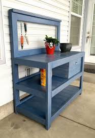 DIY How To Build A Shed  Bench Free And GardensPlans For A Potting Bench
