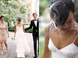 molly alex fashionable wedding at gramercy park hotel snippet ceiling lights chandelier earrings