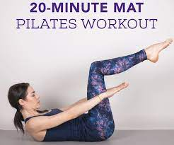 20 minute at home pilates workout for