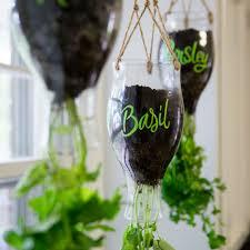 Hanging Kitchen Herb Garden Diy Califia Hanging Planter Gardens Planters And Hanging Herbs