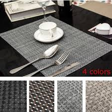 home interior powerful kitchen table placemats com sicohome pvc for dining heat from kitchen