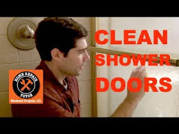 how to clean soap s off shower doors by home repair tutor you