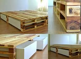 diy storage bed. Age Diy Storage Beds Bedside Caddy To Make A Platform Bed Place The Slats On Side