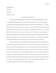 Essay Of Technology Essay About Technology