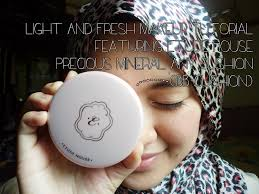 light and fresh makeup tutorial featuring etude house precious mineral any cushion msian