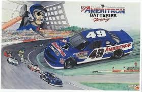 "1992 STANLEY SMITH #49 Nascar Winston Cup ""Ameritron Batteries"" Postcard! -  $5.57 | PicClick"