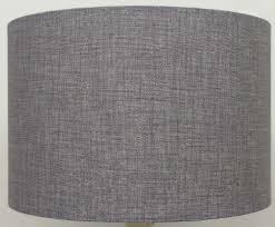 gorgeous dark grey drum lamp shade lamps shades argos with white