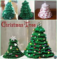 Free Crochet Christmas Tree Patterns Beauteous Crochet Christmas Tree Free Patterns For Holiday Decoration