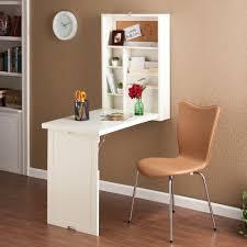 Furniture:Modern Minimalist Computer Desk Mounted On Wall With Plastic  Office Chair Modern Minimalist Computer