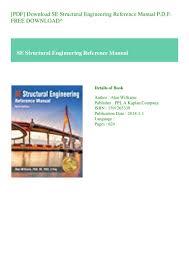 Pci Bridge Design Manual Pdf Pdf Download Se Structural Engineering Reference Manual