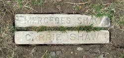 Mercedes Carrie Shaw (1915-1916) - Find A Grave Memorial