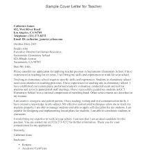How To Write A Cover Letter For Early Childhood Education Early Childhood Education Cover Letter Get Educator