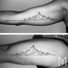 Resultat Dimatges De Minimal Tattoo Alpinism Tattoo Tetování