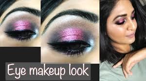 all affordable eyeshadow pallet party makeup eyelook in urdu hindi