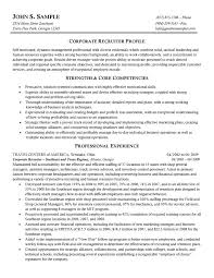 Corporate Resume Example Resume Examples Templates Easy Recruiter Resume Example Detail 2