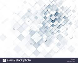 Light Blue Abstract Geometric Cube Background For Technology