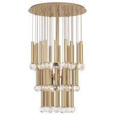 jonathan adler milano le chandelier polished brass