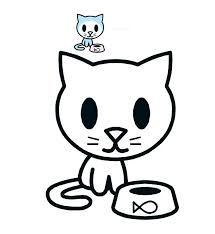 Cat Coloring Pages For Kids Printable Cat Coloring Pages For Kids At