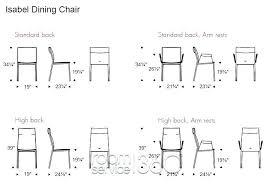 dining room table measurements. Table Size Chart Modern Design Dining Room Length For Sizes . Measurements A