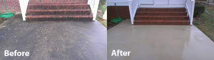 cleaning concrete patio pressure