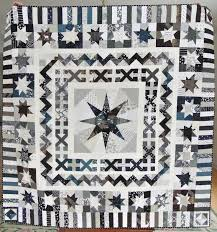 714 best Quilt sampler images on Pinterest   Quilt block patterns ... & Lovelea Designs: A Black and White Custom Milky Way Medallion -. Quilting  PatternsQuilt ... Adamdwight.com