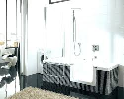 replace bath with walk in shower on bathroom for walkin shower tubs cost to replace bathtub with walk in shower cost