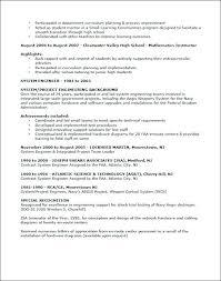 Sample Teacher Resumes Sample Teaching Resume For Example Elementary ...