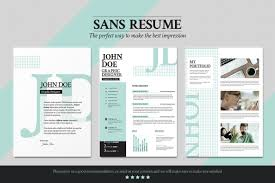 Sans Resume Cover Letter Portfolio Resume Templates On Architecture ...