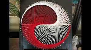 String Art Diy String Art Youtube