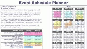 6 Event Project Plan Template Excel Business Opportunity Program