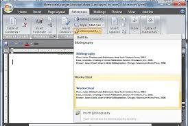 How To Make It Mla Format On Word Using Microsoft Word To Create References And