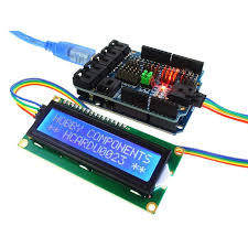 arduino compatible iic i2c twi ywrobot serial lcd 1602 module  at Qunqi 11c 12c Twi 1602 Wiring Diagram