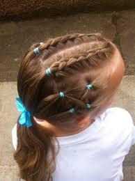 Braids Gymnastic Hairstyle účesy Pro Princezny účesy Pro