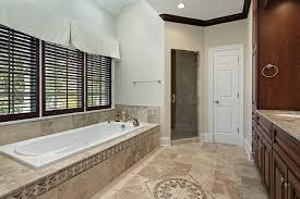 bathroom tile floor patterns. Natural Stone Tile Bathroom With Accent Design Floor Patterns