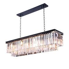 chandeliers odeon glass fringe rectangular chandelier retro glass fringe with light chrome chandelier retro odeon