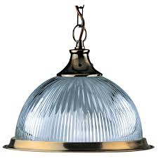 searchlight amercian diner ceiling pendant light antique brass