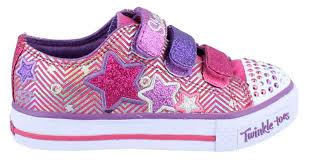 sketchers light up shoes girls. girls skechers, twinkle toes shuffles triple up light | kids shoes peltz sketchers