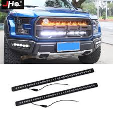 2018 Raptor Light Bar Us 396 0 12 Off Jho 40 Inches Front Grille Led Light Bars Kit For Ford F 150 Raptor 2017 2018 2019 Pickup Truck Styling Accessories White Amber In