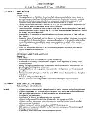 National Park Ranger Resume Park Ranger Resume shalomhouseus 3